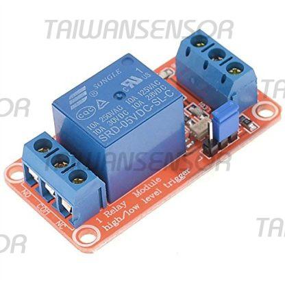 1路5V繼電器模組 光耦隔離 可設定高低電平觸